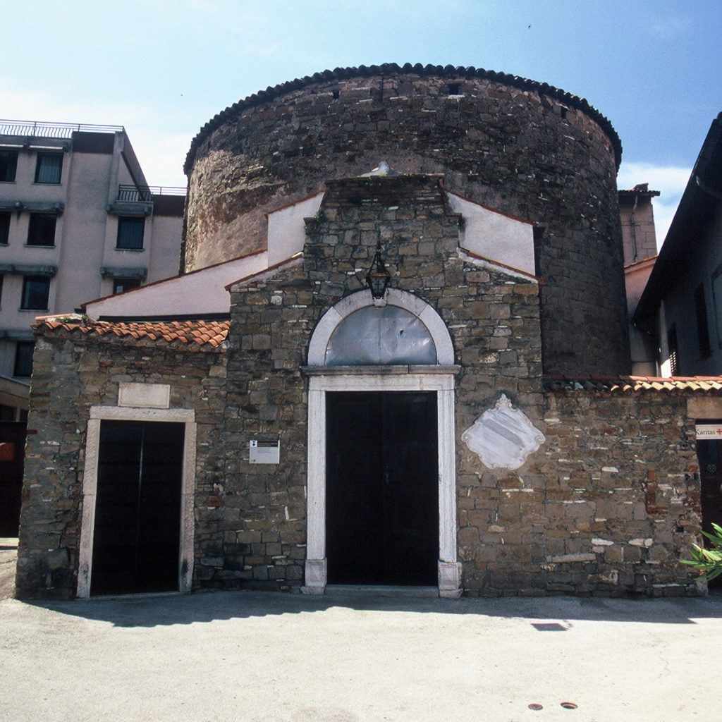 Rotunda sv. Elije, Koper (avtor: Damian Fischer)